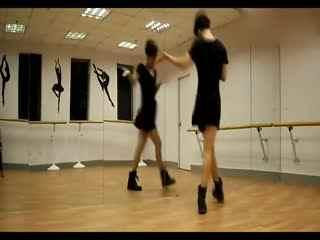 简单好学爵士舞蹈 少女时代教程7