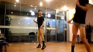 简单好学爵士舞蹈 少女时代教程2