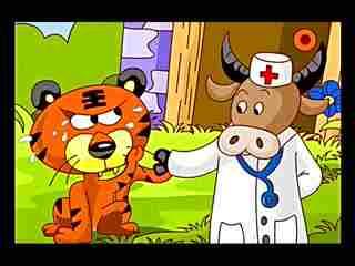 视频 童话 故事 没有牙齿的大老虎