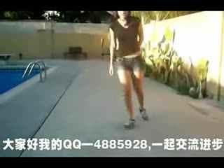 街舞鬼步舞视频 中国鬼步舞还有这样的美女高手啊!