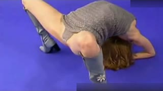 zlata最新柔术视频 美女表演逆天柔术舞蹈