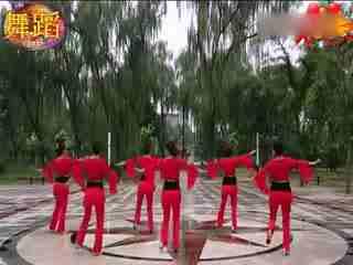 歌燕舞南京队 草原的月亮 广场舞视频教学