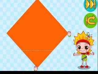 儿童折纸大全视频 圆形多格盒子 折纸王子