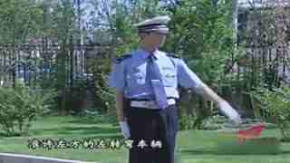新手学车入门教程 道路交通之交通警察指挥手势信号