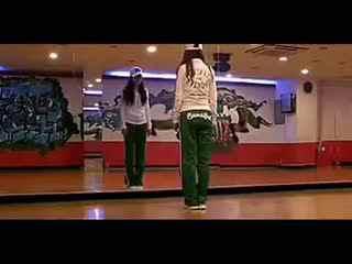 鬼步舞视频高清 鬼步舞基础舞步教学美女示范