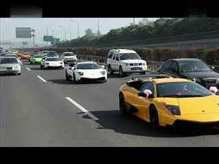 北京超牛兰博基尼婚礼车队