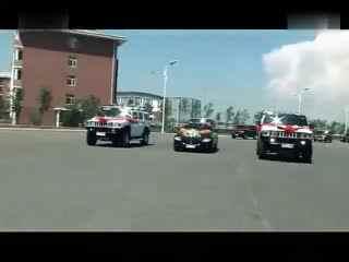 牡丹江最牛逼 最震撼的悍马奔驰婚礼车队