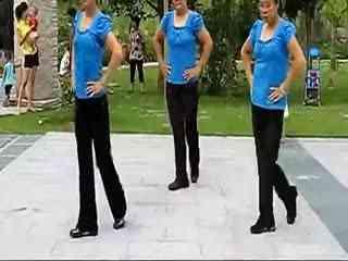 场舞老婆最大_老婆最大16步恰恰广场舞视蹈分解动作--华数TV
