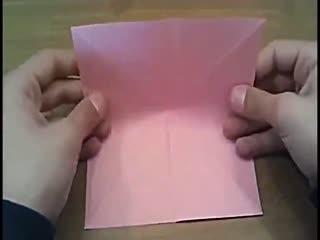 折纸大全视频 折纸大全图解 玫瑰花简单折法图片