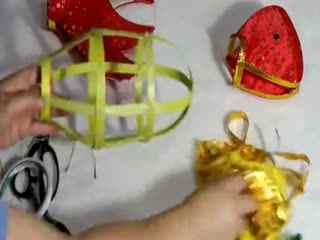 立体折纸大全图解 小兔子灯笼制作方法