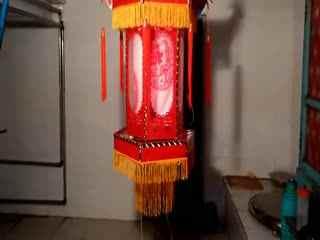 纸灯笼的做法 七彩手工串珠灯笼