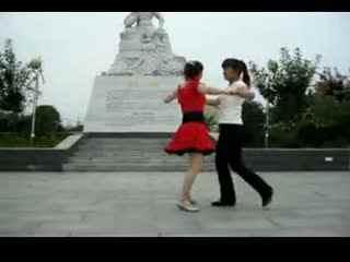 兰玉双人舞北京平四_兰玉广场舞双人舞北京平四
