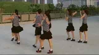 兰玉双人舞北京平四_双人舞教学视频兰玉广场舞双人舞北京平四华