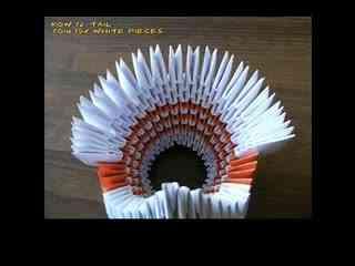手工折纸大全 蝴蝶戒指的折法图片