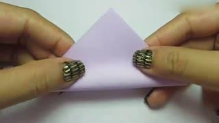 手工折纸大全 金元宝的三种折法