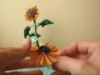手工折纸大全图解 3D仙人掌折纸视频教程图片