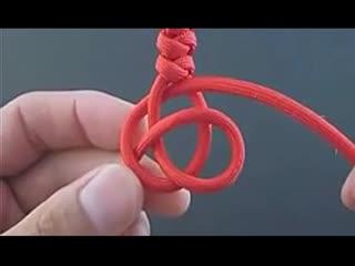 手工编绳手链教程图解