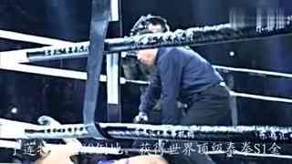 武林风武僧一龙20秒ko对手 恐怖KO之王获泰拳S1金腰带