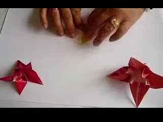 折百合花的步骤视频_百合花的折法步骤图 DIY折纸视频教程--华数TV