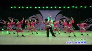 杨艺广场舞:七彩花儿开表演(欣赏)