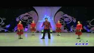 杨艺广场舞:格桑花开第二讲 爱的翅膀
