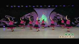 杨艺广场舞:绿旋风