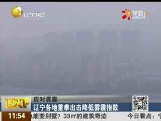 辽宁各地重拳出降低雾霾指数