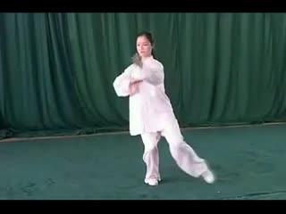 太极拳24式视频教学 24式太极拳带口令--华数