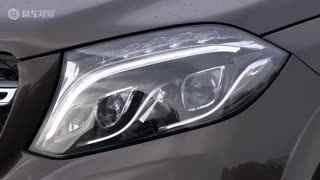 奔驰GLS 350d 增配LED日间行车灯