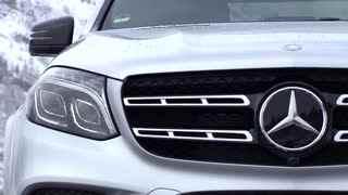 奔驰GLS 500外观 采用21英寸AMG轮圈