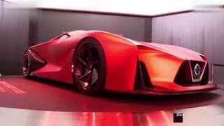 概念车一览 2020 日产GT赛车概念版视觉效果