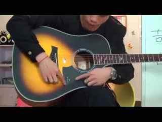 初学者教程吉他教学吉他视频视频教学看教程蓝天喷绘白云图片