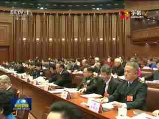 十二届全国人大四次会议主席团举行第二次会议
