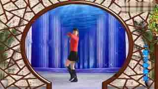 太湖一莲广场舞—原创dj《我想你想疯了》正背面附分解教学
