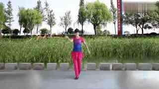 太湖一莲广场舞-原创《万喜中国喜》-正背面附分解教学