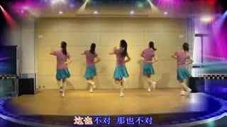 太湖一莲广场舞《DJ这也不对那也不对》原创团队附分解教学