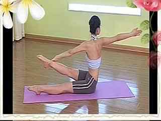 瑜伽v瑜伽视频瘦肚子初级瘦身式群发广告瑜伽居家瑜伽技巧图片