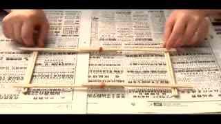手工制作:用一次性筷子做创意收纳箱