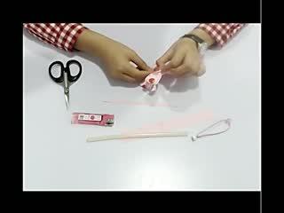 手工制作:美丽的发卡