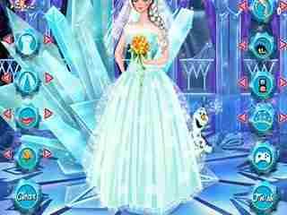 公主冰雪视频小洛解说:婚纱小游戏之艾莎武打奇缘李小龙视频图片