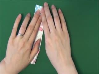 纸船的折法 独木舟 折纸视频教学