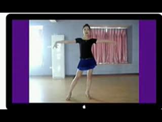 拉丁舞练习原地视频桑巴教学教程入门--华数TV最强-电信卡剪律动141000图片