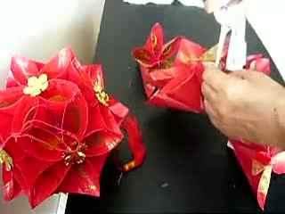 父亲节灯笼制作 花灯制作方法 手工制作绣球灯笼