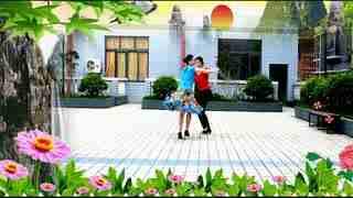 兰玉双人舞北京平四_双人舞蹈视频大全兰玉广场舞双人舞北京平四