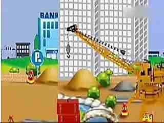 儿童挖掘机视频表演 吊车 挖掘机装车视频表演