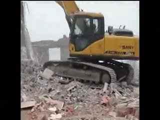挖土机视频表演大全 挖掘机工作视频表演 挖机装车