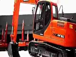 挖掘机视频表演 挖掘机视频表演与微型装载机上装车