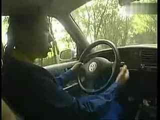 驾校九选六学车视频 坡道定点停车和起步