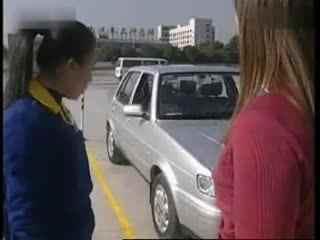 驾校九选六学车视频 侧方位停车