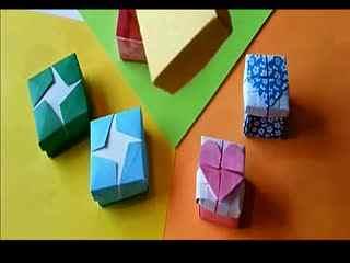 简单可爱折纸盒折法图解 简单爱心盒子折纸教程